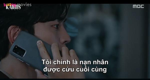 Seo Jin cho Ae Ri biết mình cũngcó mặt trong vụ sập công trường 19 năm trước và anh là nạn nhân cuối cùng được cứu ra.