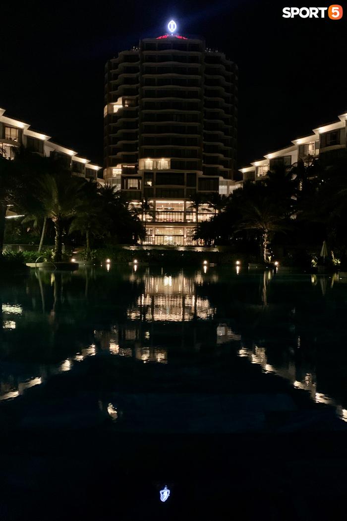Không gian của khu resort cao cấp - nơi tổ chức tiệc mừng của Công Phượng.