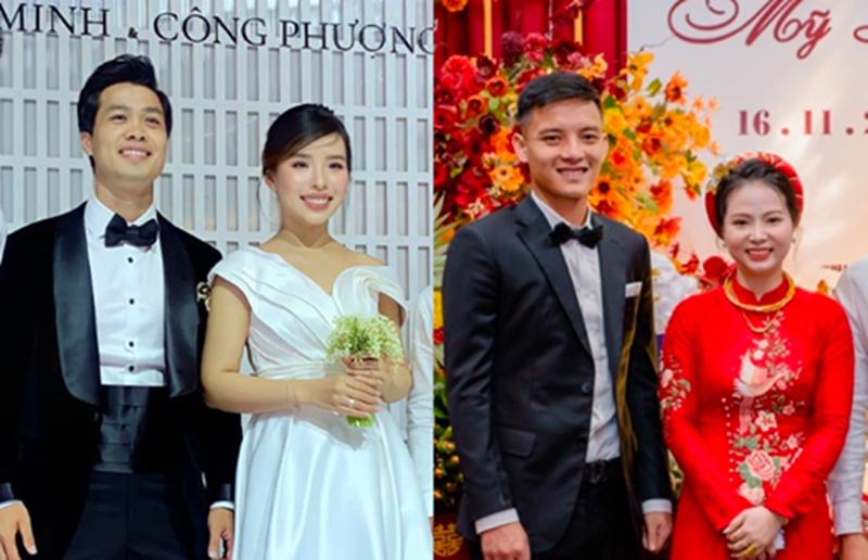 Cả Văn Khánh và Công Phượng đều tổ chức lễ cưới vào hôm nay