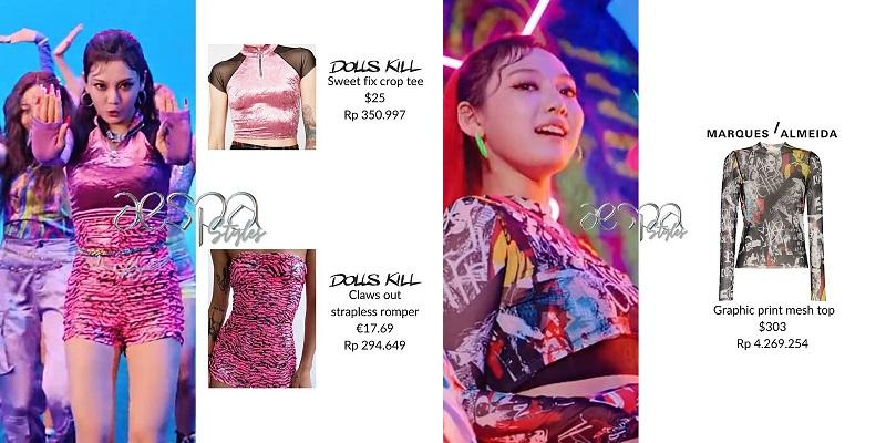 Cô nàng khiến netizen trầm trồ trước màn phối đồ bắt trend với áo ôm body hay lăng xê đồ có tông màu neon.