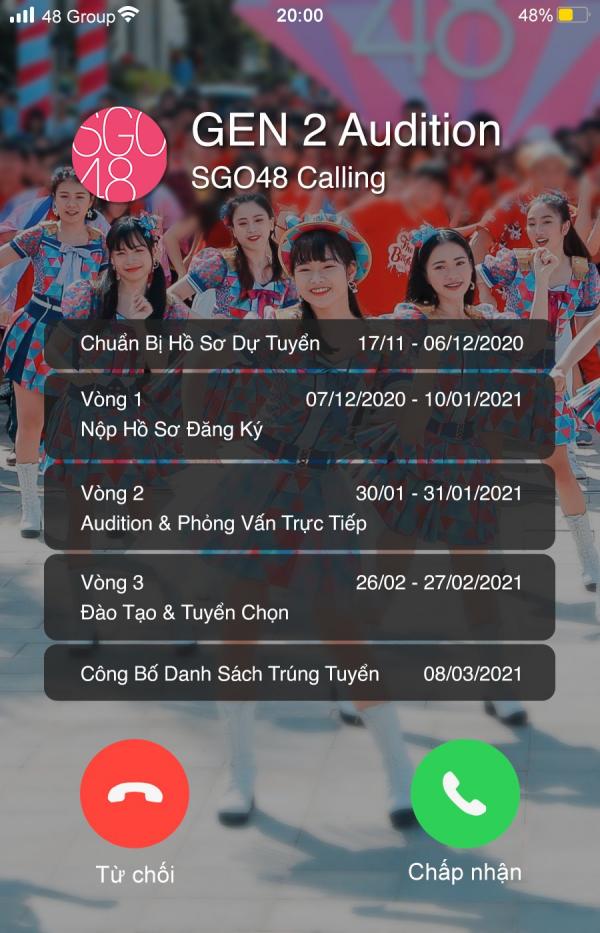 SGO48 công bố tuyển sinh thế hệ 2 giữa lúc chuẩn bị ra mắt MV River 2