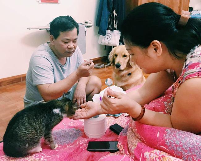 Bố mẹ Phương Trang.