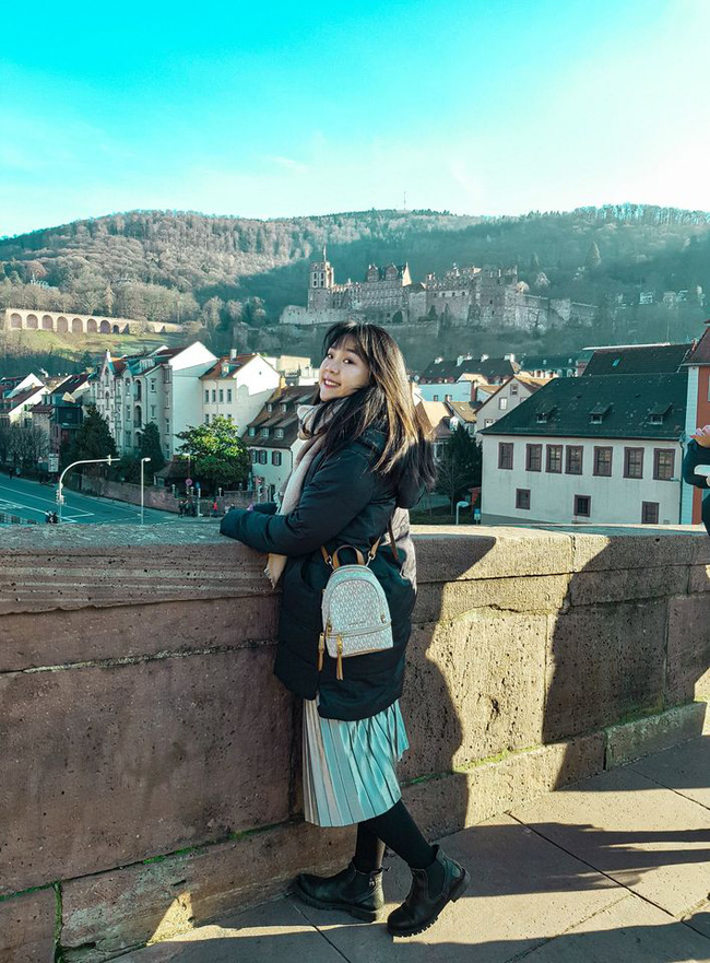 Trang hiện tại đang là du học sinh Đức.