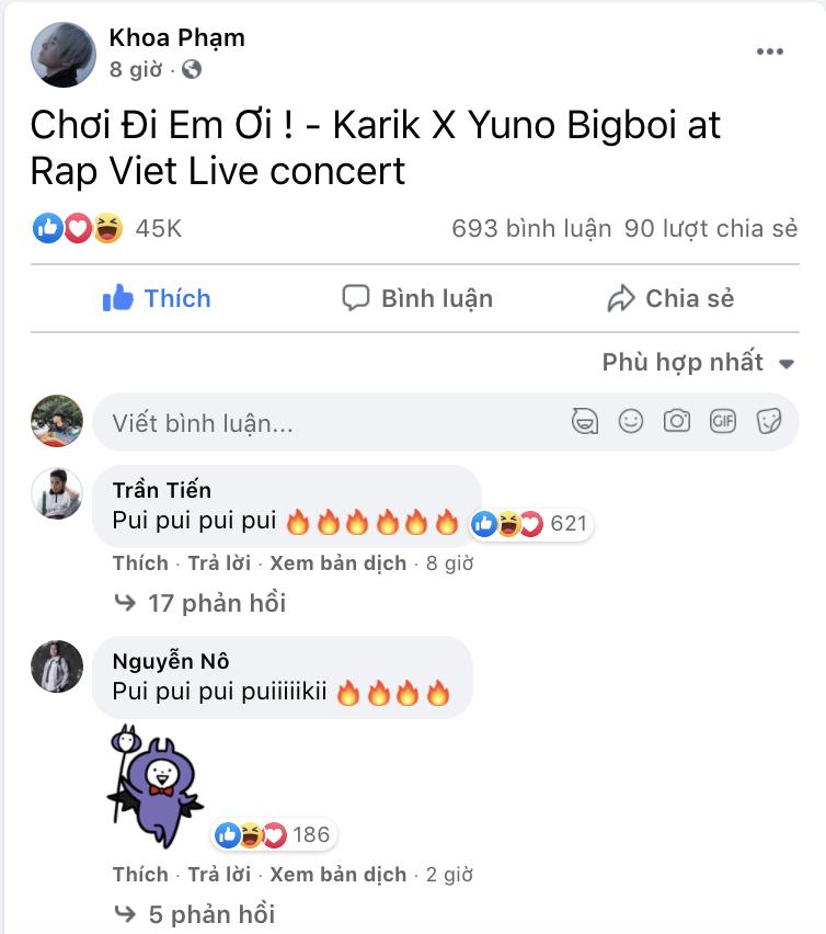 Karik bất ngờ đăng tải trên trang cá nhân một dòng trạng thái ngắn tuyên bố mình sắp ra mắt nhạc phẩm mới.