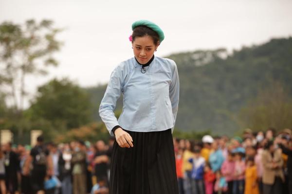 Hoa hậu Khánh Vân khá nhiệt huyết