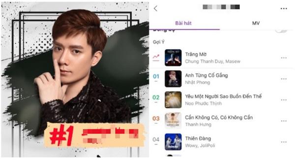 Hé lộ ca khúc mới 'vượt mặt' bản hit của Noo Phước Thịnh 0
