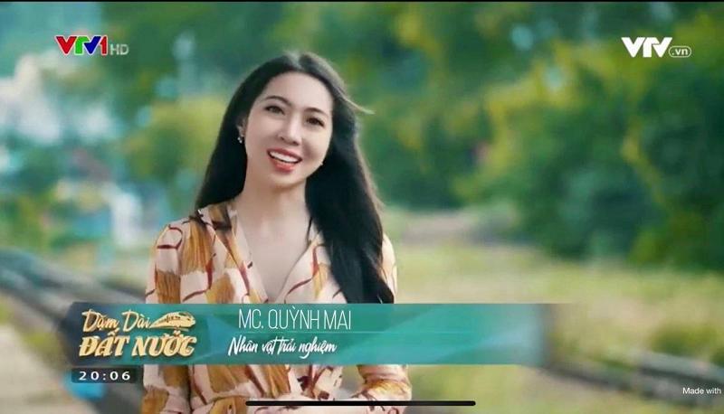 Nguyễn Quỳnh Mai là gương mặt người dẫn chương trình quen thuộc của Đài Truyền hình Việt Nam cùng nhiều sự kiện lớn.