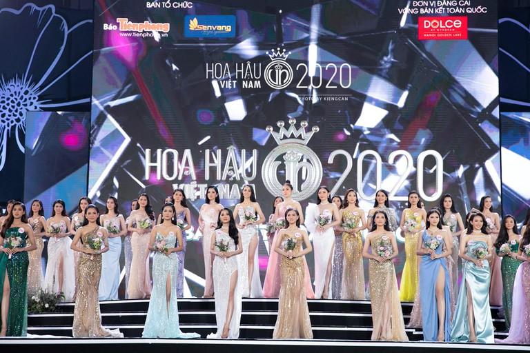 Top 35 người đẹp sẽ tranh tài trong đêm Chung kết toàn quốcHoa hậu Việt Nam 2020.