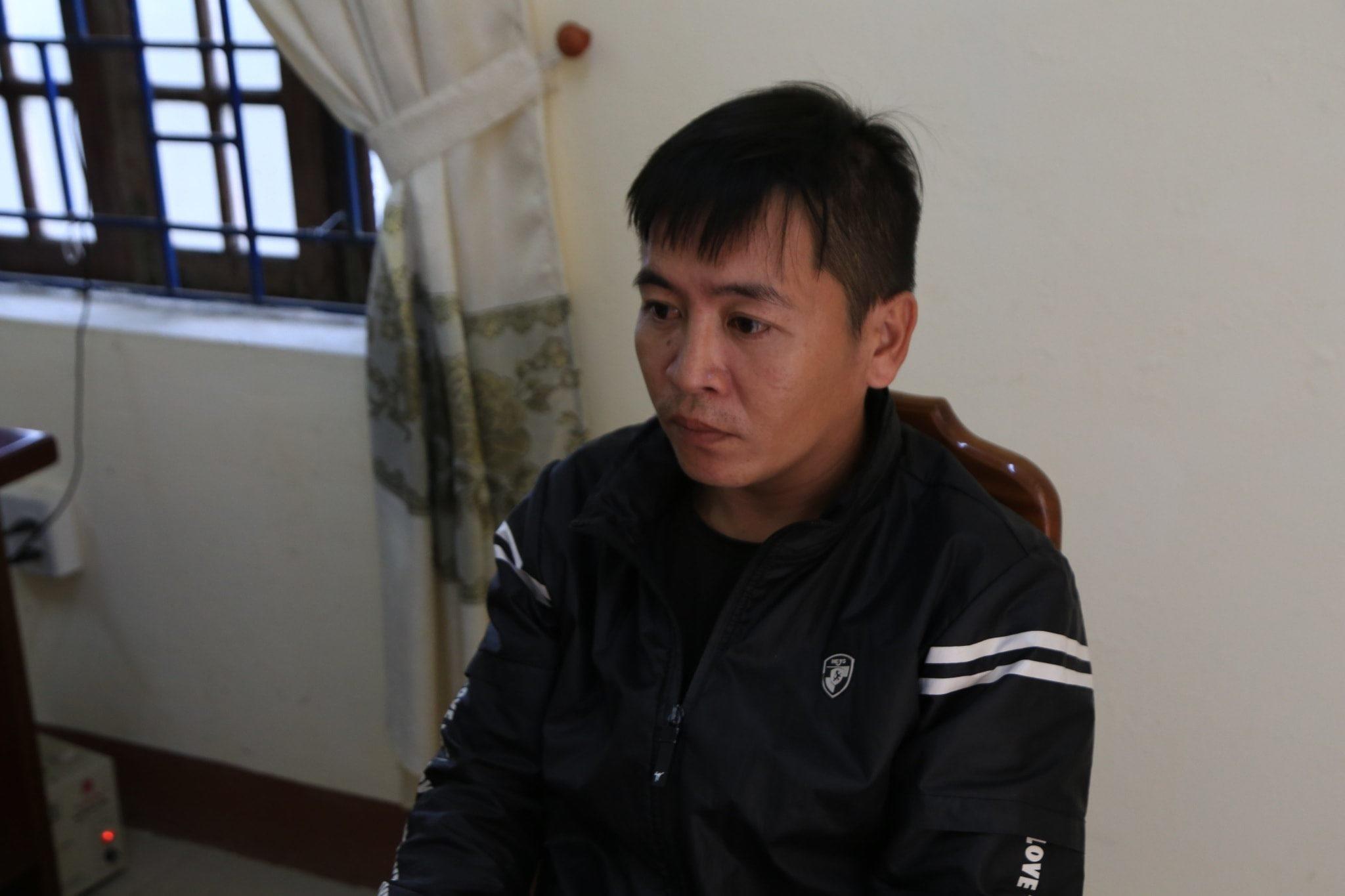 Đối tượng Lê Công, Ảnh: Phóng viên Huế.