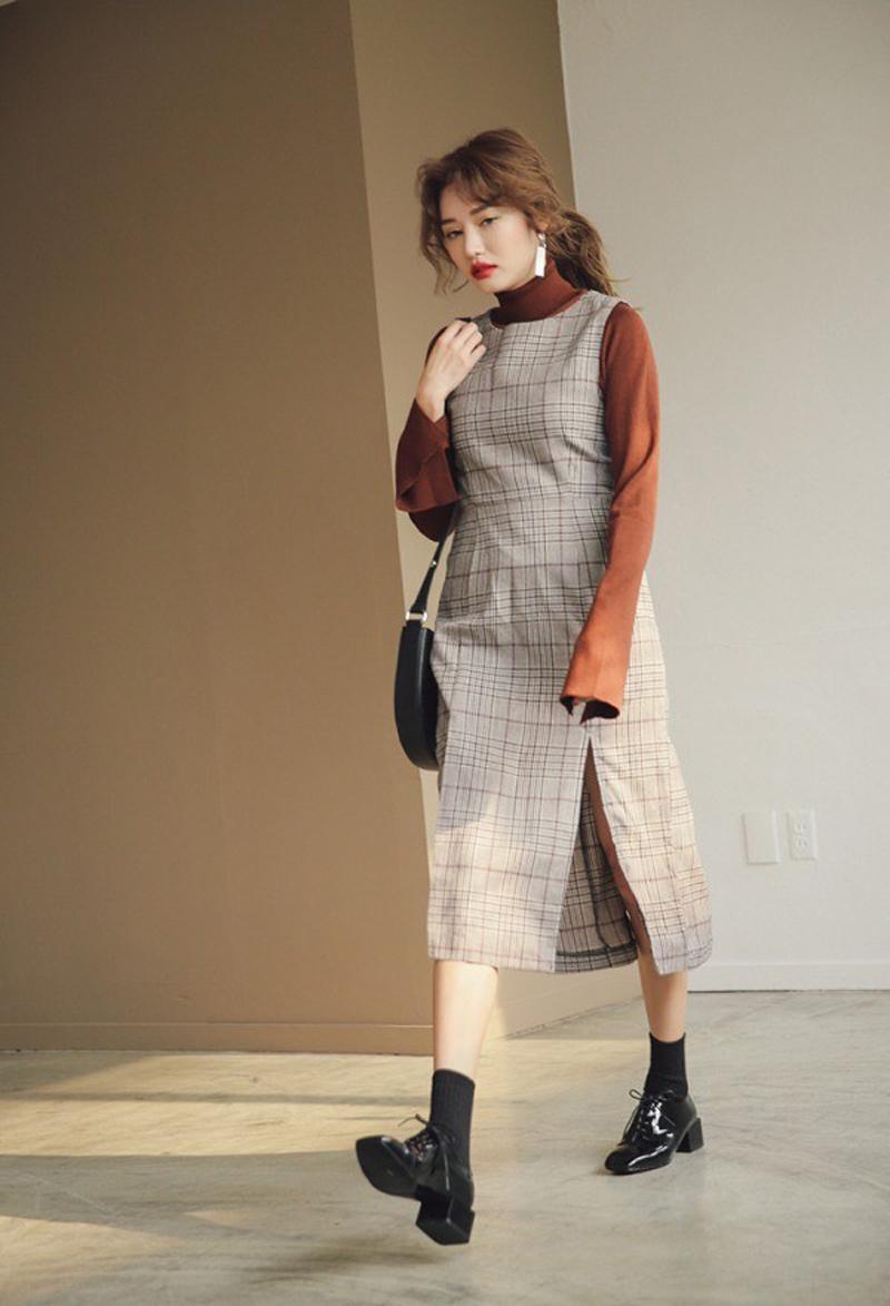 Loafer + tất cao = Cặp đôi nhấn nhá cho set đồ chuẩn vintage 4