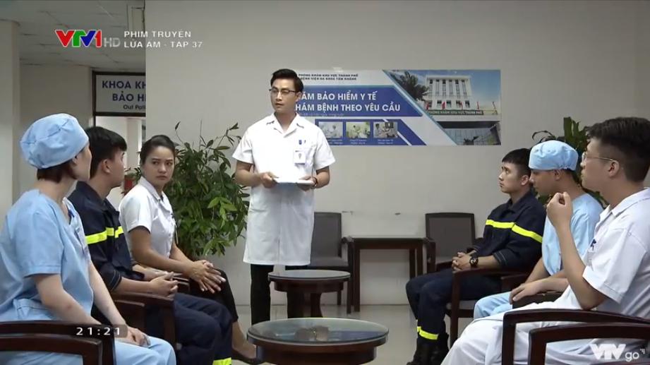 'Lửa ấm' tập 37: Thủy có nguy cơ lây nhiễm HIV vì bất chấp nguy hiểm cứu người 6