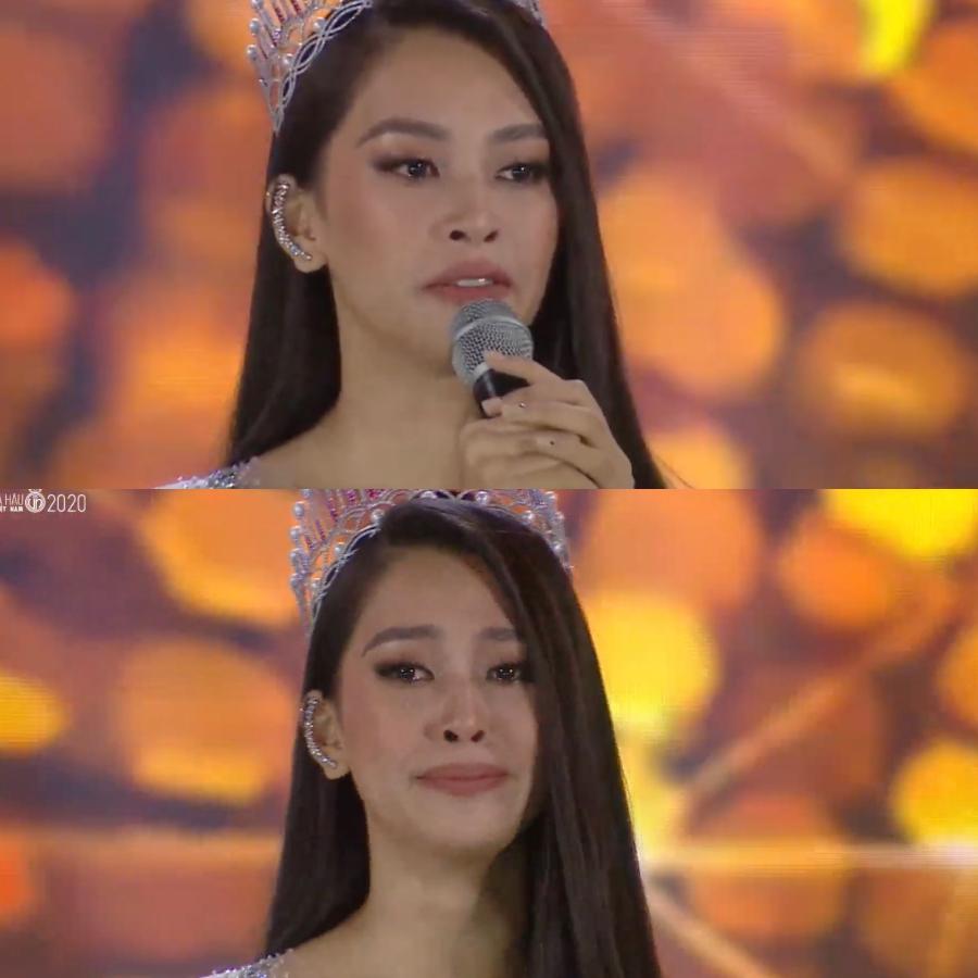 Sải những bước đi cuối cùng trên cương vị đương nhiệm, Hoa hậu Việt Nam 2018 Trần Tiểu Vy đã tạo nên khoảnh khắc để đời vì vẻ ngoài lộng lẫy.