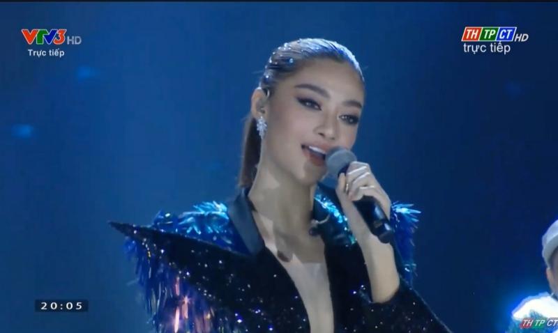 Chung kết hoa hậu Việt Nam: Binz đổi lời Bigcityboi, Hoàng Thuỳ Linh vừa diễn vừa hát live vẫn 'chặt đẹp' dàn thí sinh 0