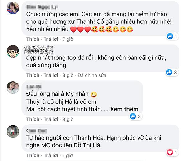 Hoá ra Hoàng Thuỳ là người đứng sau chiếc váy dạ hội của tân Hoa hậu Việt Nam Đỗ Thị Hà 2
