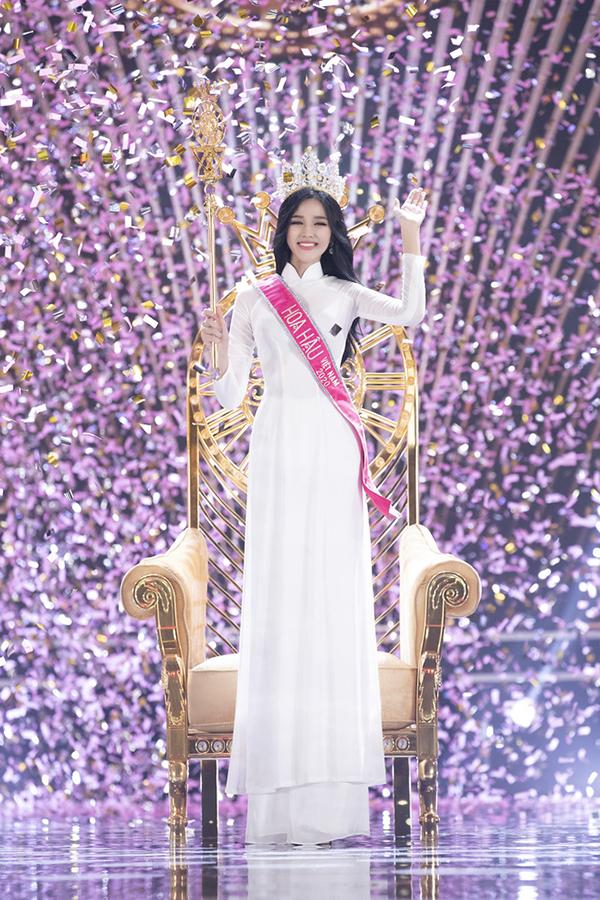 Hoa hậu Diễm Hương gửi lời chúc mừng tân Hoa hậu Việt Nam Đỗ Thị Hà