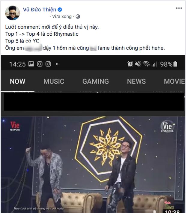 Trên trang các nhân của mình, vị giám khảo Rap Việt còn chia sẻ thành tích đáng nể của mình.