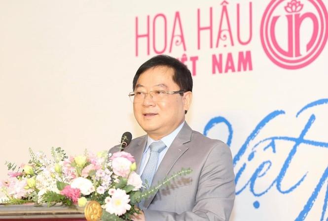 ÔngLê Xuân Sơn - trưởng ban tổ chức cuộc thi Hoa hậu Việt Nam 2020.