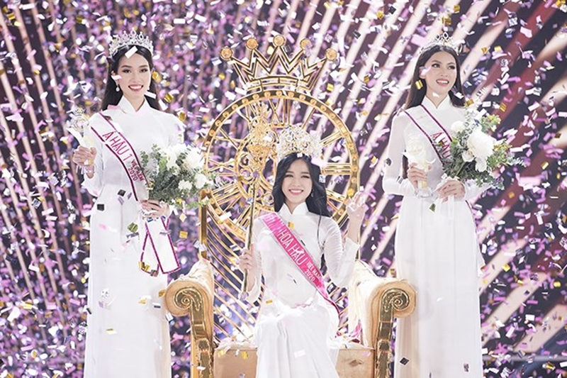 Số đo 3 vòng của Tân Hoa hậu Đỗ Thị Hà 'như mơ' mà sao mặc bikini lại 'thẳng đuột' thế này? 0