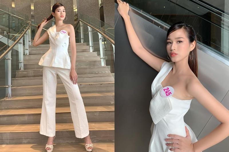 Số đo 3 vòng của Tân Hoa hậu Đỗ Thị Hà 'như mơ' mà sao mặc bikini lại 'thẳng đuột' thế này? 8