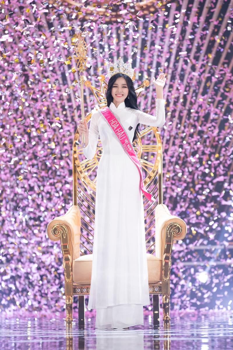 Hoa hậu Việt Nam 2020 Đỗ Thị Hà trong suốt quá trình thi.