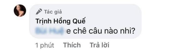 Đồng tình với ý kiến chê hoa hậu Đỗ Thị Hà xấu, Hồng Quế bị cư dân mạng 'ném đá' 2