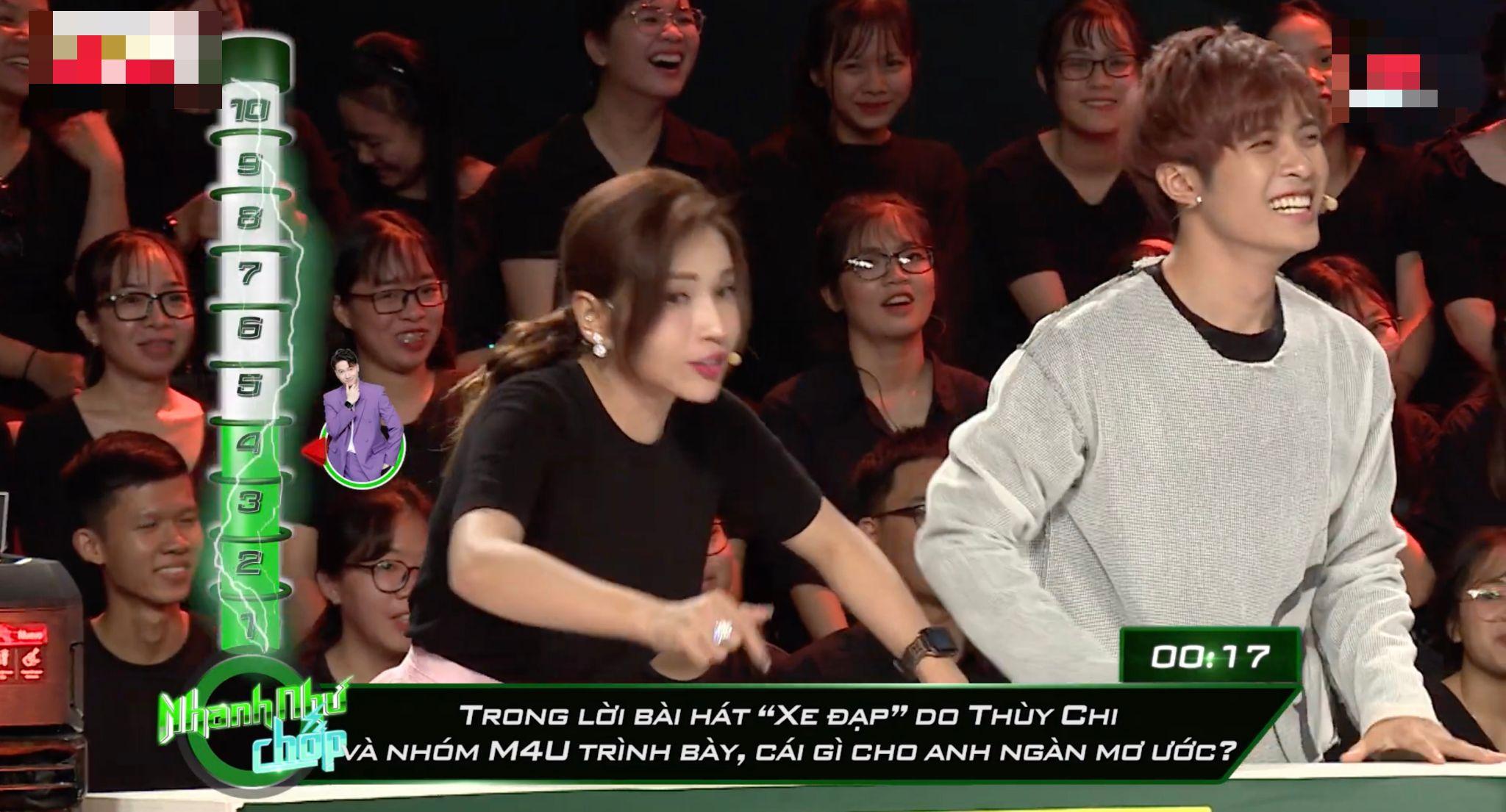 Khả Như, Gin Tuấn Kiệt bò quanh sân khấu 'Nhanh như chớp' 3 lần vì lỡ miệng 'khinh'Lê Dương Bảo Lâm 2