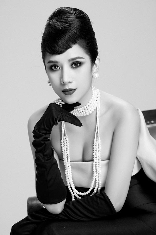 Dương Yến Nhung hóa thân thành nữ minh tinh Audrey Hepburn 2