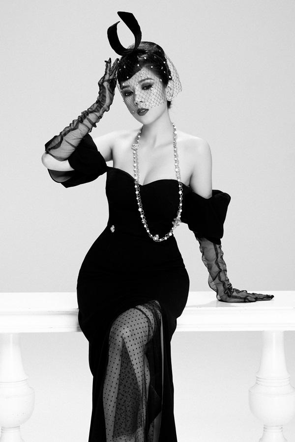 Dương Yến Nhung hóa thân thành nữ minh tinh Audrey Hepburn 3