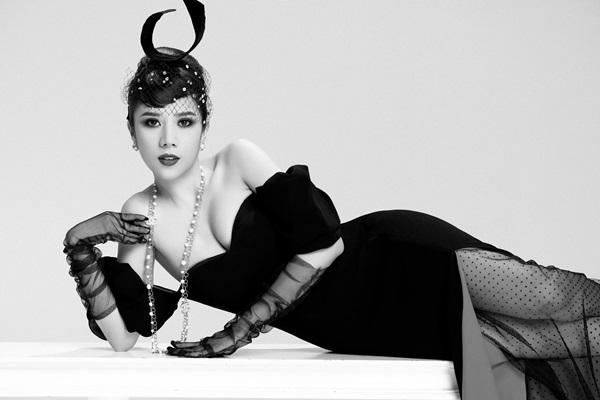 Dương Yến Nhung hóa thân thành nữ minh tinh Audrey Hepburn 5