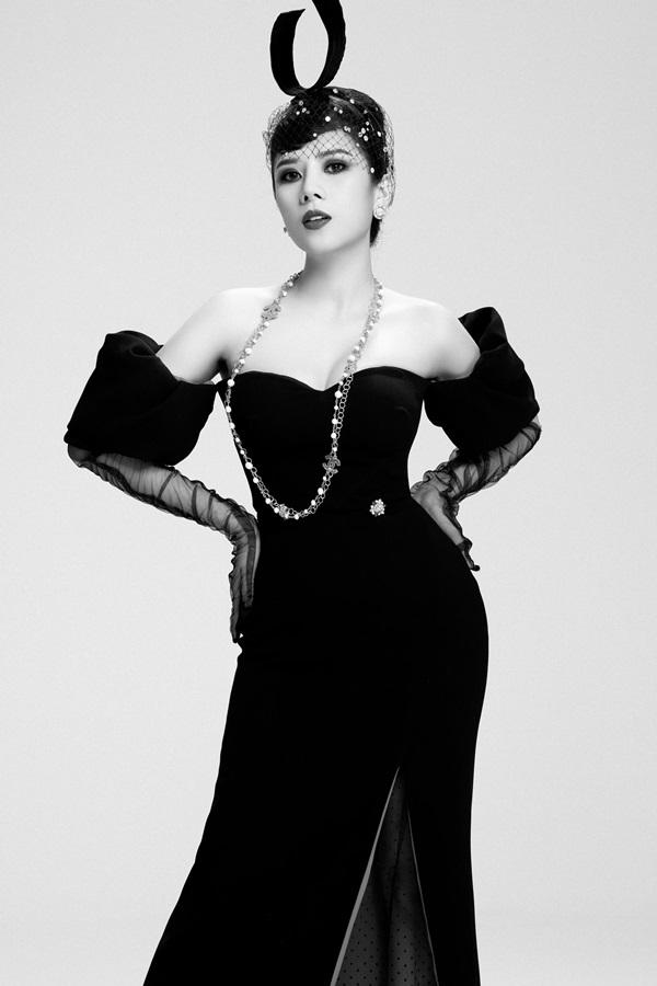 Dương Yến Nhung hóa thân thành nữ minh tinh Audrey Hepburn 6