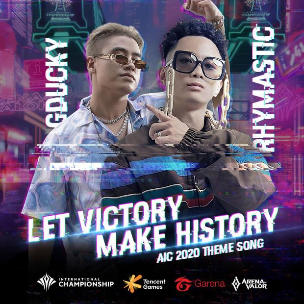 GDucky kết hợp cùng Rhymastic tung ca khúc đầu tiên sau khi giành ngôi Á quân Rap Việt.