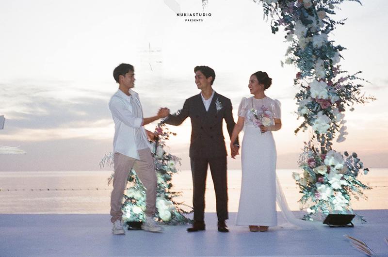 Văn Toàn trong đám cưới của Công Phượng - Viên Minh