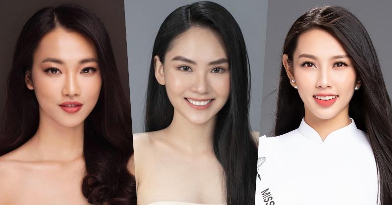 Từ trái sang phải: Phạm Thuỷ Tiên (Người đẹp Nhân ái 2016), Huỳnh Nguyễn Mai Phương(Người đẹp Nhân ái 2020), Nguyễn Thúc Thuỷ Tiên(Người đẹp Nhân ái 2018)