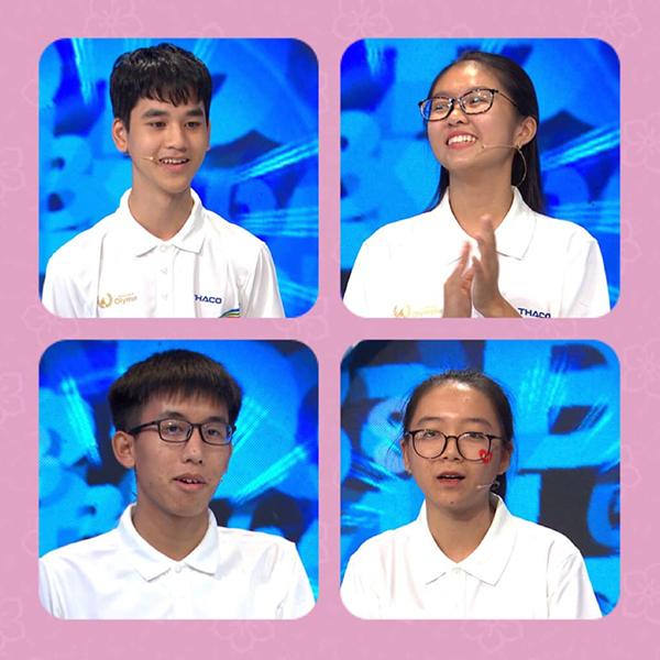 Các thí sinh tham gia cuộc thi tuần hôm nay.