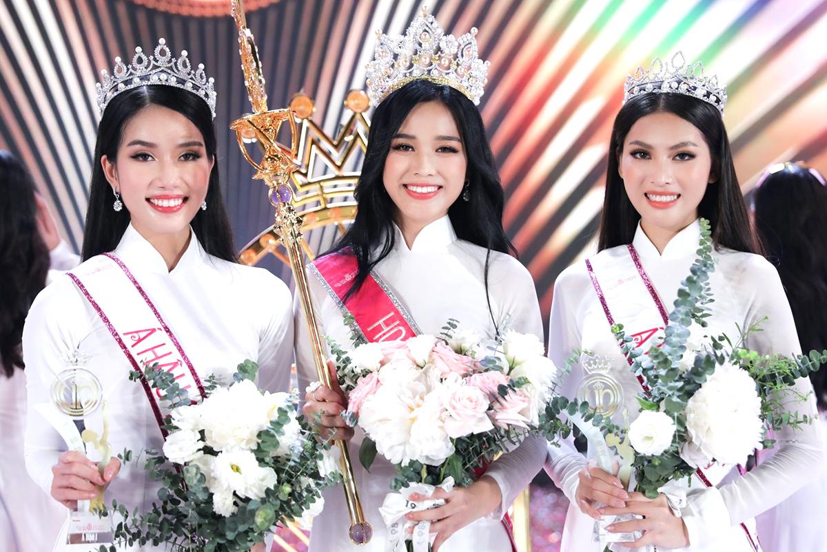 Top 3 Hoa hậu Việt Nam ghi điểm nhờ nhan sắc xinh đẹp, cùng ngoại hình sáng sủa