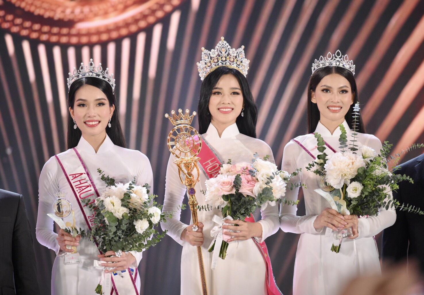 Top 3 Hoa hậu Việt Nam 2020 với nhan sắc xinh đẹp, cuốn hút