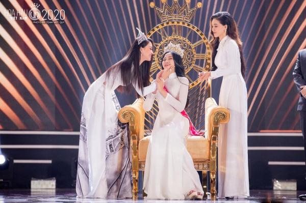 Trần Tiểu Vy viết tâm thư gửi tân hoa hậu Đỗ Thị Hà: 'Sắc đẹp, trí tuệ của em sẽ làm cho chiếc vương miện lung linh hơn' 0