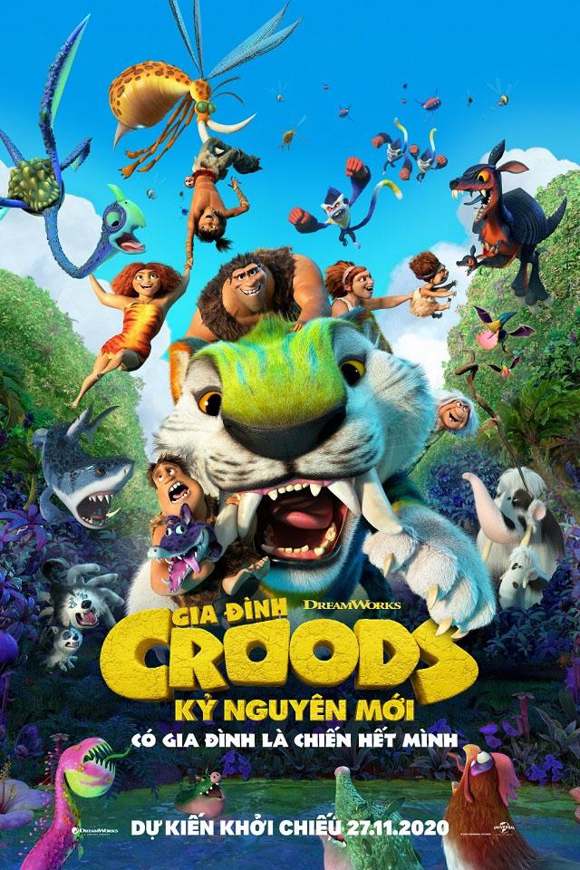 Hé lộ dàn sinh vật sống động và đầy kỳ diệu khiến khán giả 'cười bể bụng' trong 'Croods 2' 7