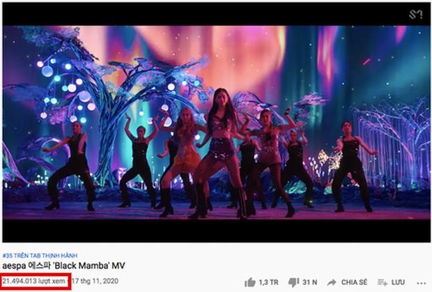 Lượt xem sau 24 giờ đầu của MV debut nhà SM.