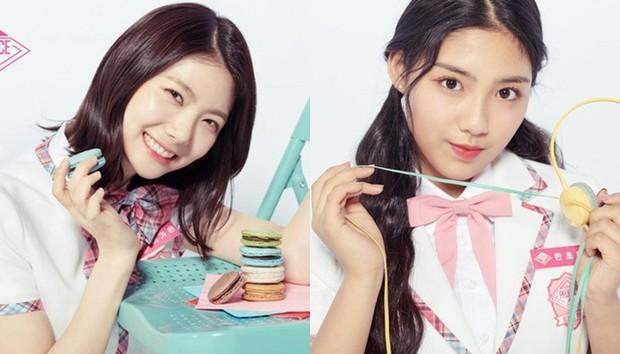 Lee Gaeun và Han Chowon- hai thí sinh sẽ ra được debut cùng IZ*ONE nhưng bị loại vì thao túng phiếu bấu.
