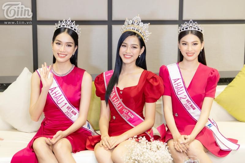 Cảm ơn Top 3 Hoa hậu Việt Nam 2020 đã đến và giao lưu cùng độc giả Tiin!