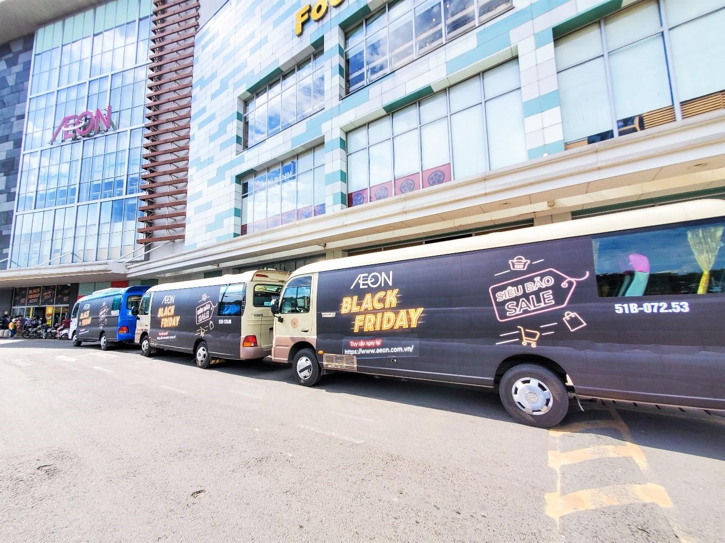 Black Friday - 'hóa đen dài tập' với 'Siêu Bão Sale' chỉ có tại Trung tâm Mua sắm AEON Mall! 0