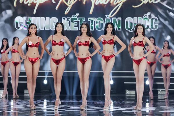 Nhìn chung, có lẽ đây vẫn chưa phải là thiết kế bikini hoàn hảo của Chung kết Hoa hậu Việt Nam 2020.