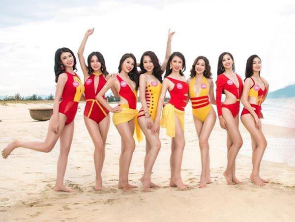 Trang phục Bikini tại các cuộc thi Hoa hậu dạo gần đây: Không bị chê 'diêm dúa' thì cũng suýt làm thí sinh 'lộ hàng' 7