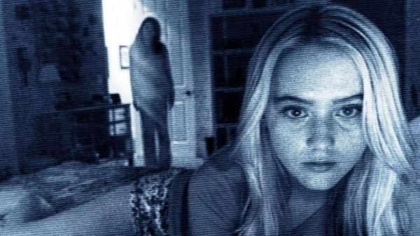 Bad Teacher (ảnh trên) và Paranormal Activity 4 (ảnh dưới) là hai tác phẩm chào sân điện ảnh của Kathryn Newton