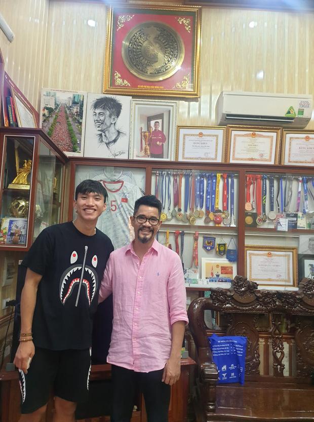 Bố Hải My đăng ảnh chúc mừng sinh nhật Văn Hậu từ hồi tháng 4