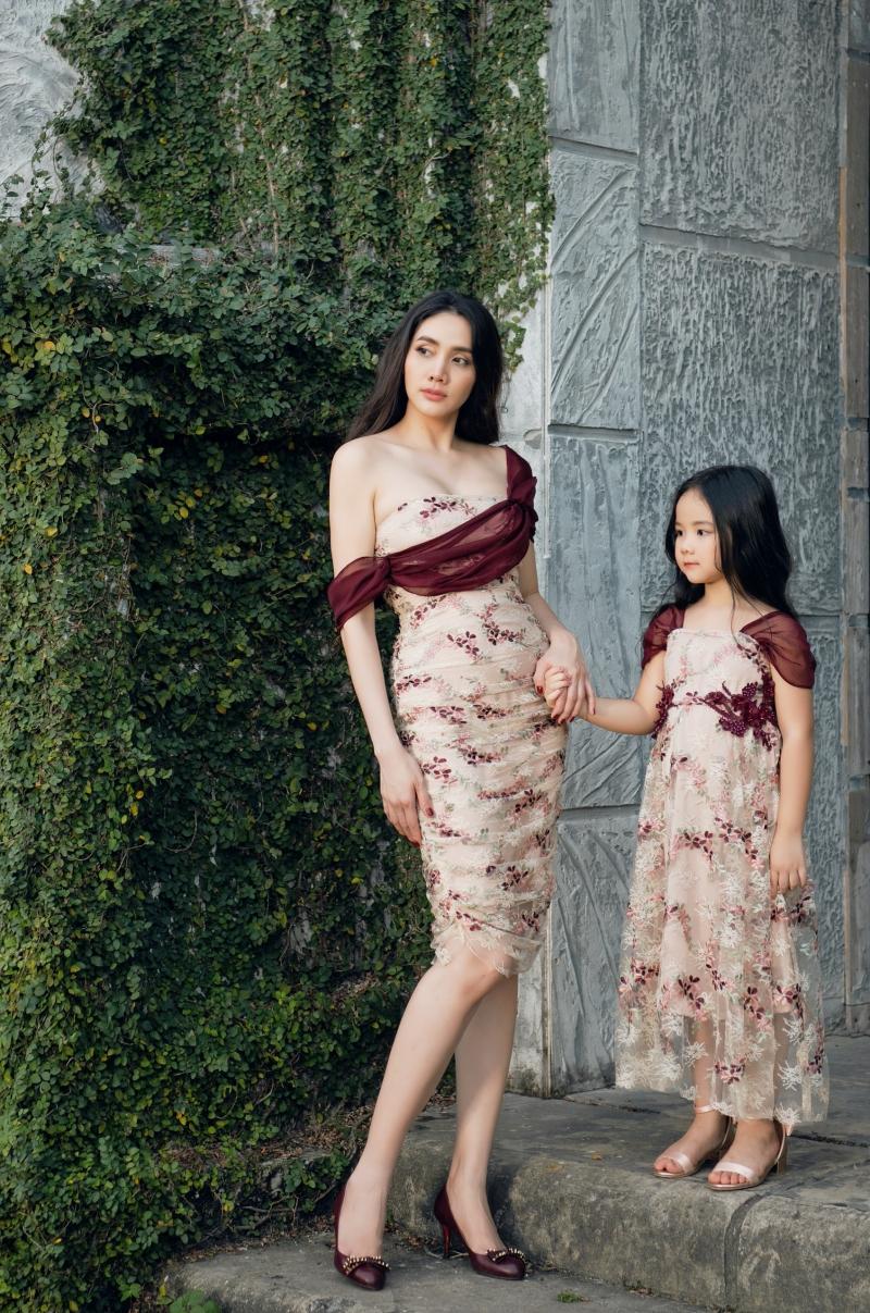 Con gái là nguồn cảm hứng để Trang Nhung thiết kế BST thời trang dành cho mẹ và bé 1