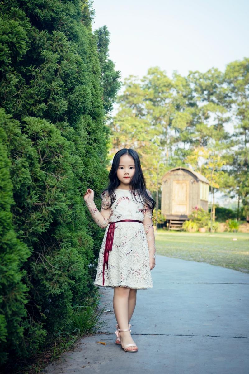 Con gái là nguồn cảm hứng để Trang Nhung thiết kế BST thời trang dành cho mẹ và bé 2