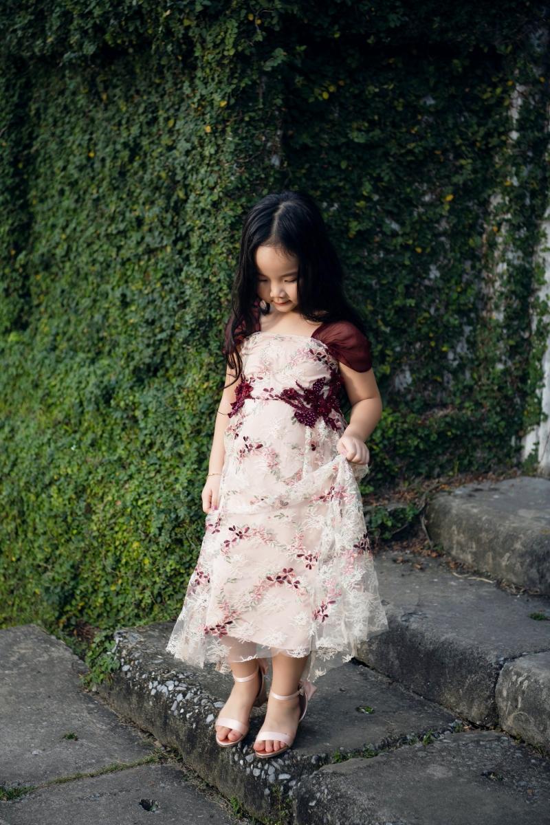 Con gái là nguồn cảm hứng để Trang Nhung thiết kế BST thời trang dành cho mẹ và bé 3