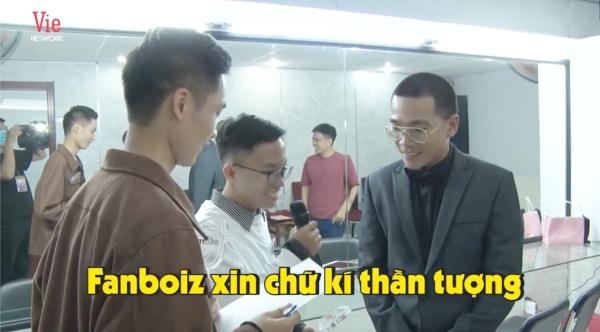 Được 'trai đẹp' Siêu trí tuệ Việt Nam xin chữ ký, Wowy hoang mang hỏi lại: 'Do thật tâm em muốn hay biên tập kêu vậy?' 2